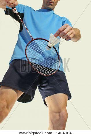Badminton Service