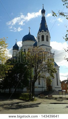 The Cathedral of the Intercession of the blessed  Mary in Gatchina