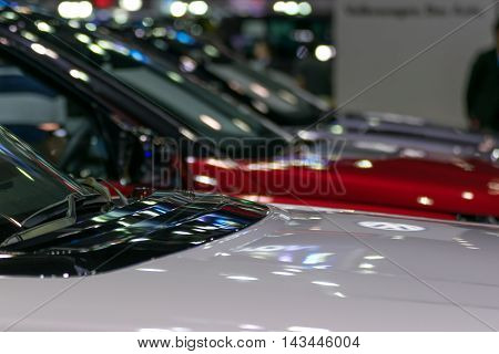 Some Parts Of The Car Show In Event