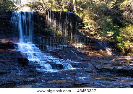 Weeping Rock Falls, Waterfall Landscape