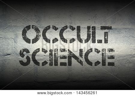 Occult Science Gr