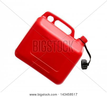 Jerrycan isolated on white