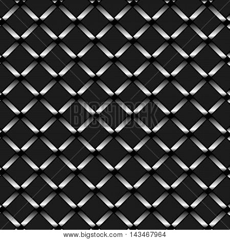 Abstract chrome metal silver texture vector isolated