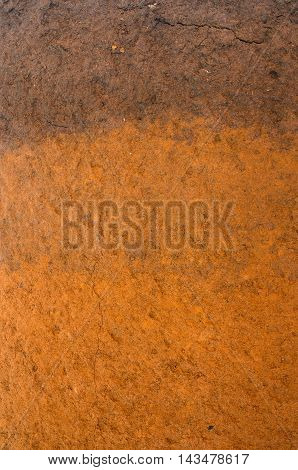 Dry soil surface cracks texture and background