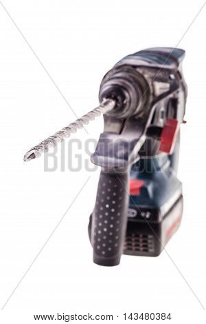 Rotary Hammer Over White