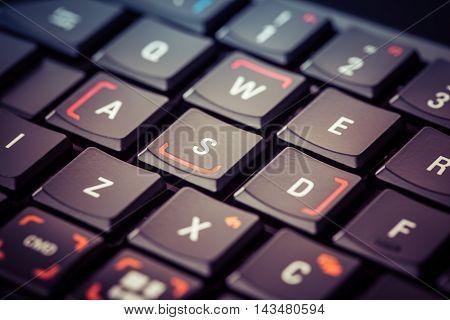 Gaming Keyboard Macro Detail