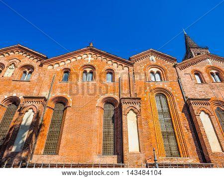 Sant Eustorgio Church Milan Hdr