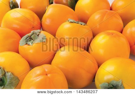 Persimmon sweet summer fruit faw fresh food