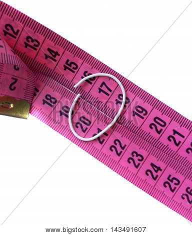 Photo of tape measure showing in 2017.