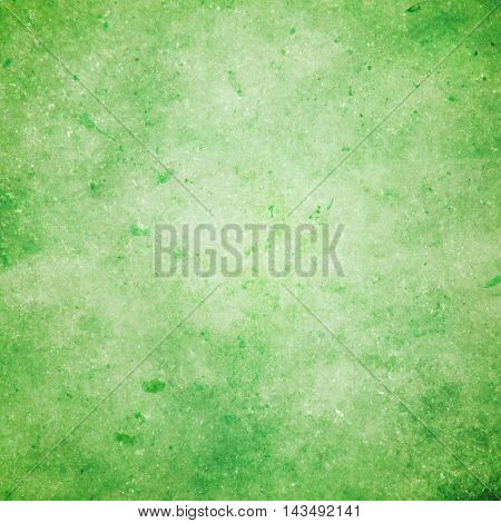 abstract colored scratched grunge background - pale green