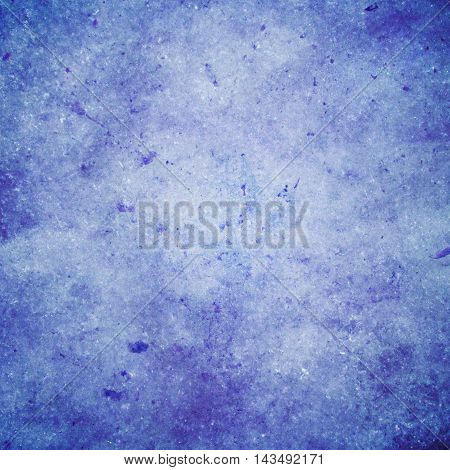 abstract colored scratched grunge background - pale blue and violet