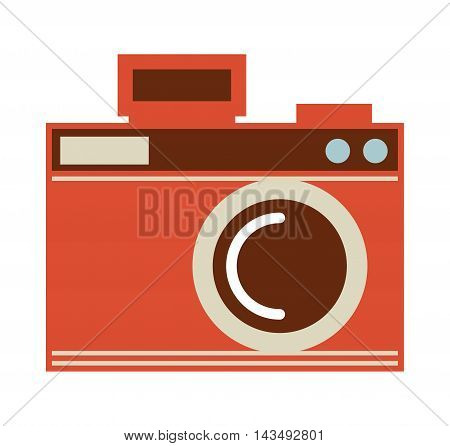 camera photo shutter vintage, vector illustration eps10