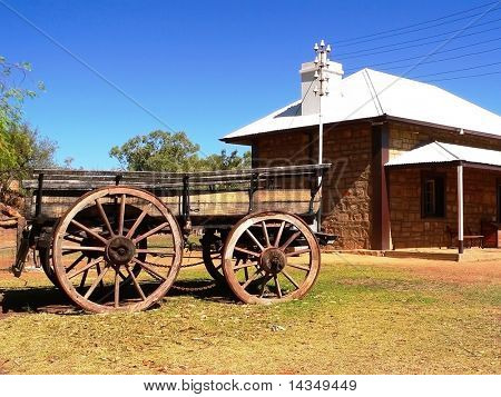 Old Telegraph Station, Alice Springs, Australia