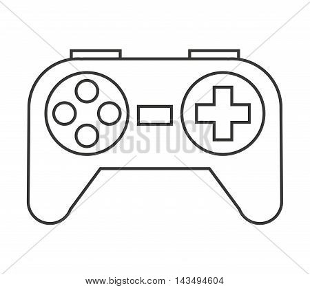 game control isolated icon vector illustration design