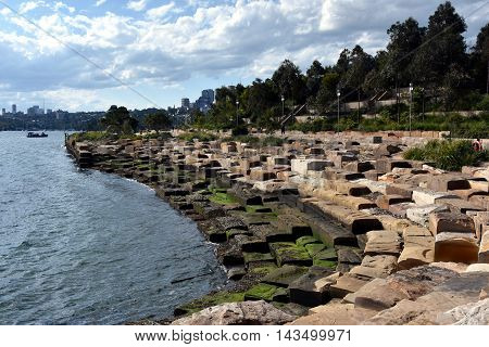 Barangaroo Reserve is the  most spectacular park on the north-western tip of Sydney's Central Business District.