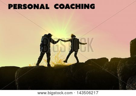 Personal coaching concept