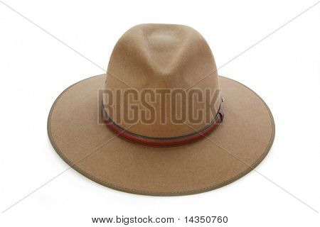Cowboy hat, Australian style.