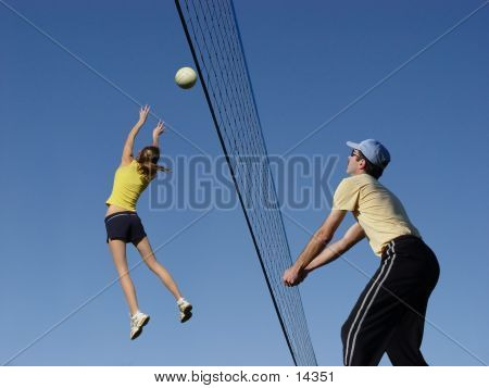 At The Net