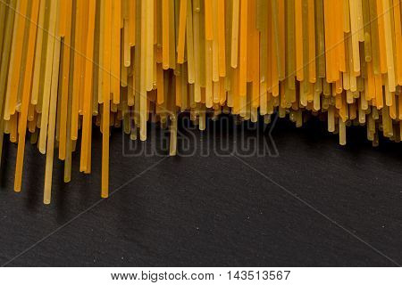 Bunch Of Various Raw Italian Pasta