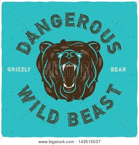 Bear Poster 01-02.eps