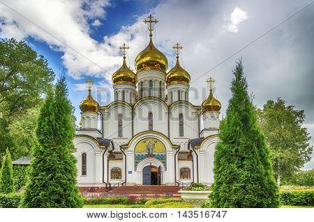 Nicholas Convent  Cathedral Russia Pereslavl Zaleski