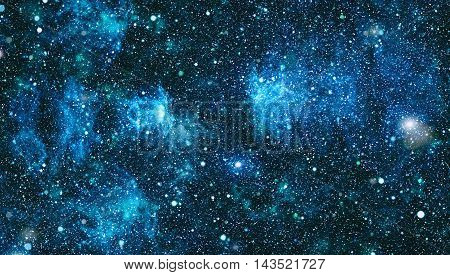 Starry outer space background texture .Deep space