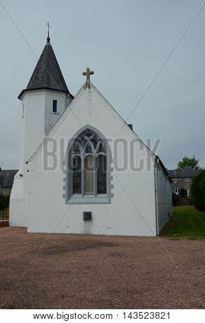An external view of a church in Tayport