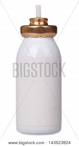 Asthma Inhaler Isolated On A White