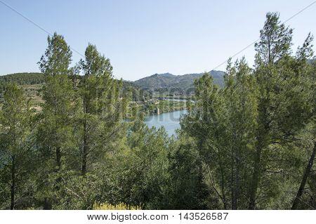 Surrounding the river Ebro in Tarragona, Catalonia, Spain.