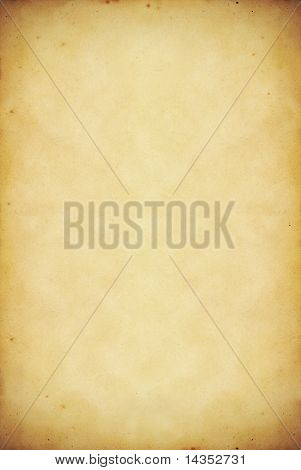 Grunge paper background.  High resolution vintage paper with stains and detailed texture.