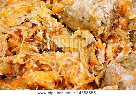 Traditional Polish Dish Bigos