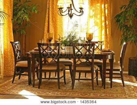 Interiores de casa modelo