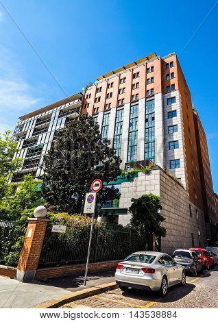Duca Di Milano Hotel In Milan (hdr)