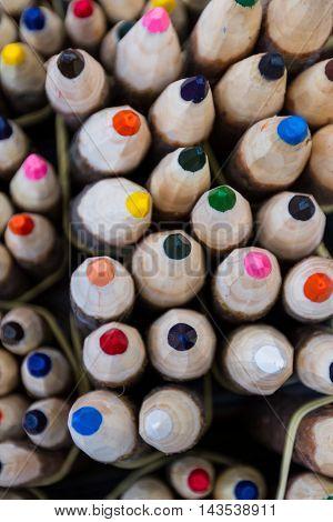 Oversized Crayons In Peru