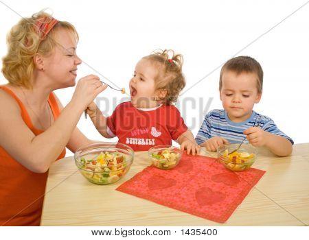 Die Freude am essen gesund