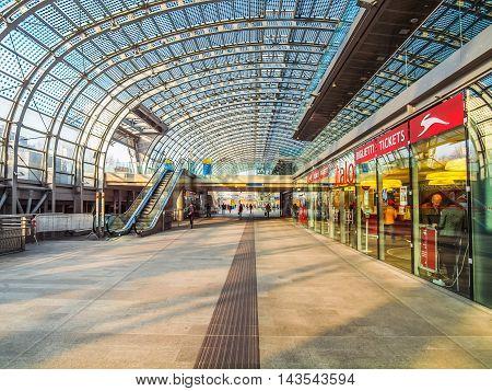 Torino Porta Susa Station (hdr)