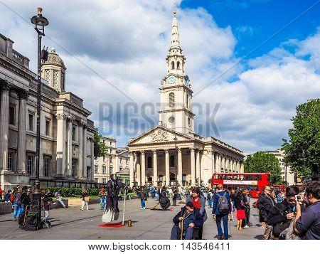 St Martin Church In London (hdr)