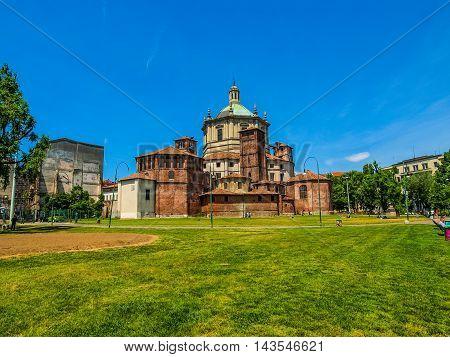 San Lorenzo Church Milan (hdr)