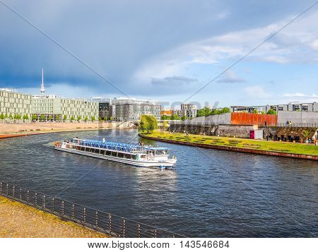 Spree River Berlin (hdr)