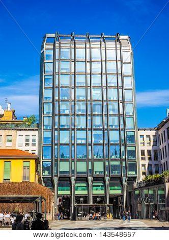 Torre Tirrena In Milan (hdr)