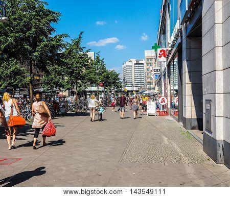 Alexanderplatz In Berlin (hdr)