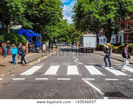 Abbey Road London Uk (hdr)