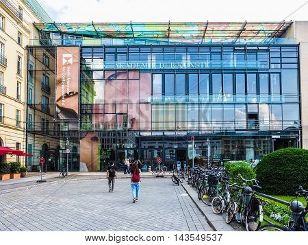 Akademie Der Kunste In Berlin (hdr)