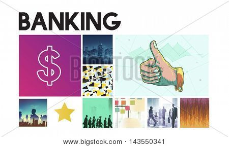Dollar Currency Financial Transaction Invest Success Concept