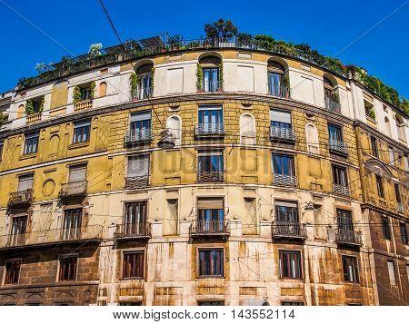 The Ca Brutta In Milan (hdr)