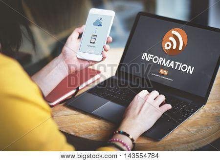 Information Details Results Statistics Concept
