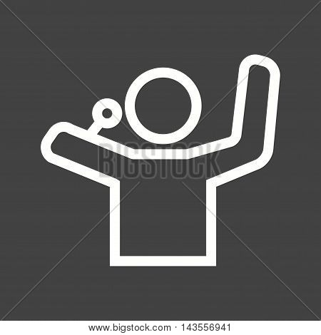 Speaker, sound, music icon vector image. Can also be used for birthday. Suitable for use on web apps, mobile apps and print media.