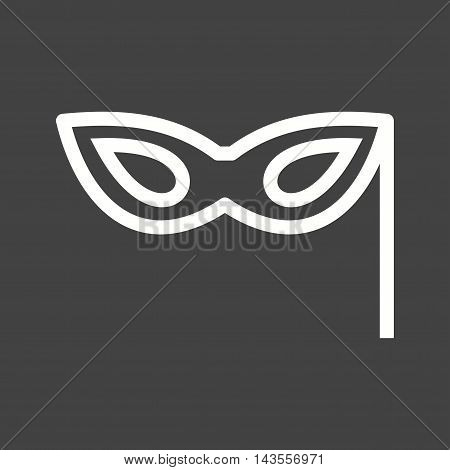 Props, party, costume icon vector image. Can also be used for birthday. Suitable for web apps, mobile apps and print media.