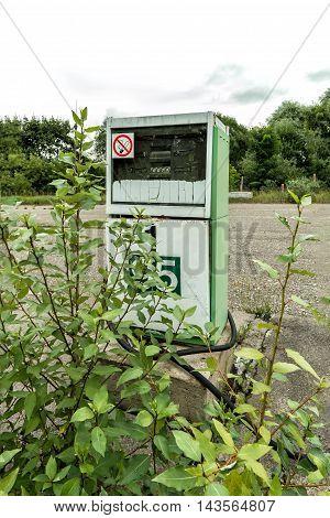 Old Gas Pump