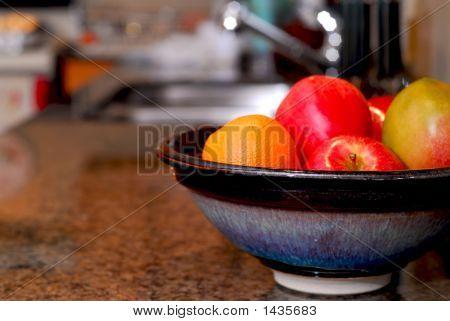 Küche-Interieur